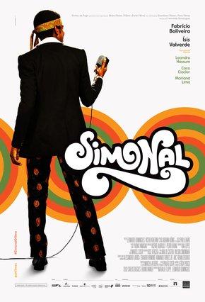 Capa de divulgação do filme Simonal