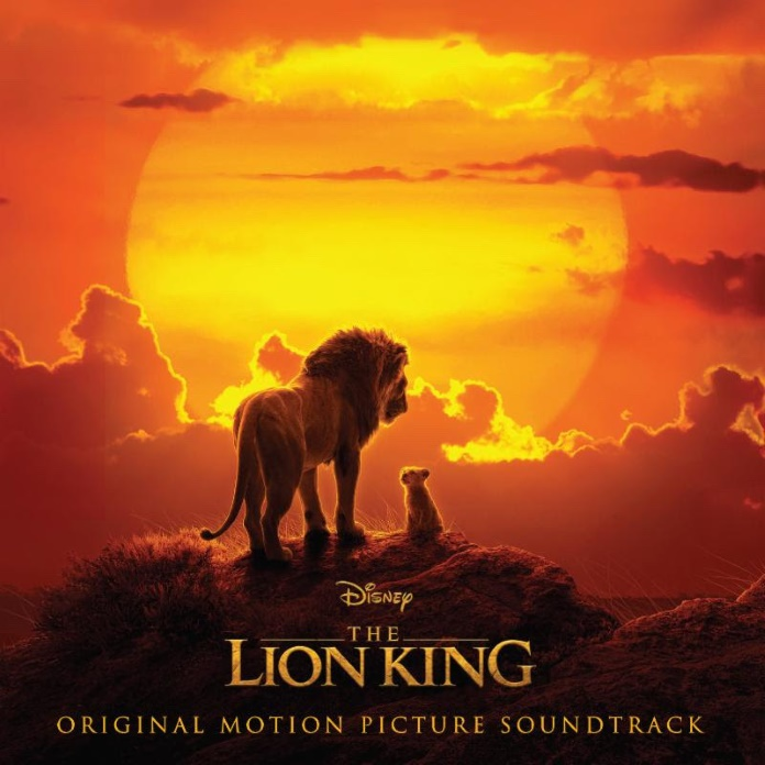 Capa de divulgação do filme O Rei Leão
