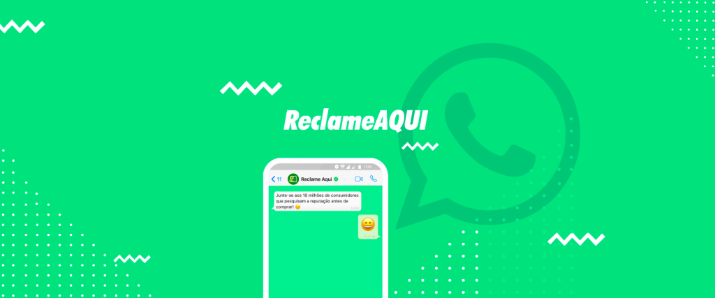 Capa Blog Reclame AQUI - Post: Whatsapp: como funcionará para as empresas no Reclame AQUI?